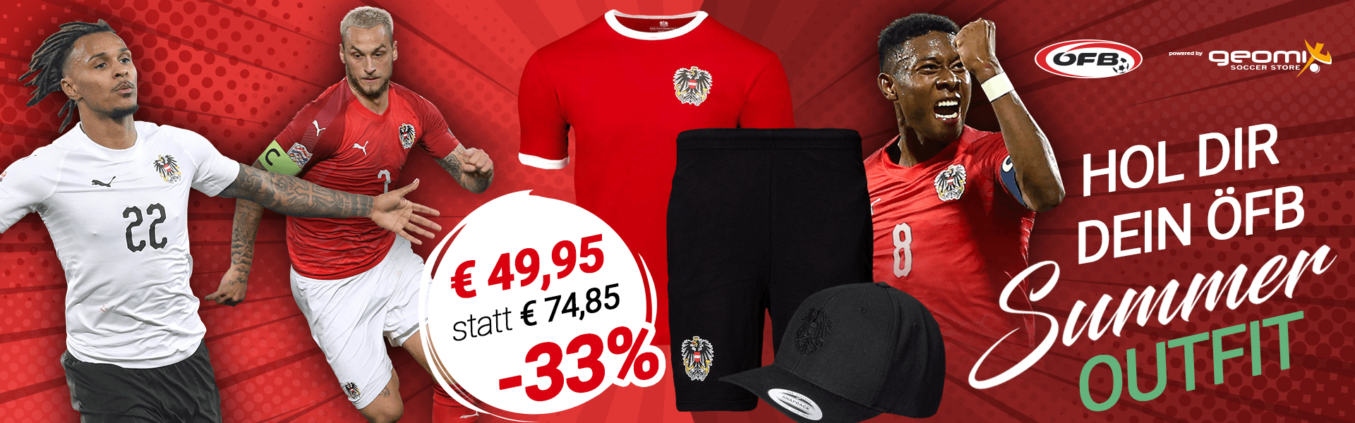 ÖFB Startseite Sommer Outfit